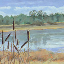 Mary Chant - Winter Cattails