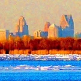Daniel Thompson - Winter Detroit Pano RM