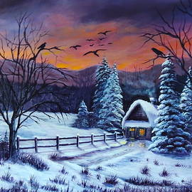 Bozena Zajaczkowska - Winter Evening 2