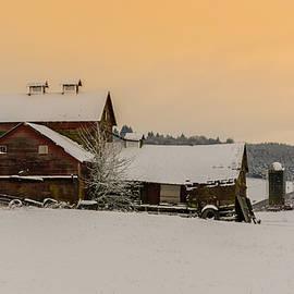 Lincoln Weaver - Winter Farmland