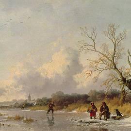Winter in Holland - Remigius van Haanen