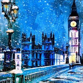 Andrzej Szczerski - Winter in London
