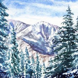 Irina Sztukowski - Winter In The Mountains