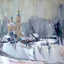 Nikolay Malafeev - Winter in the Village