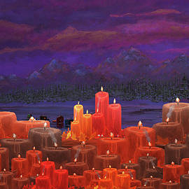 Ken Figurski - Winter Lakes Candle Light