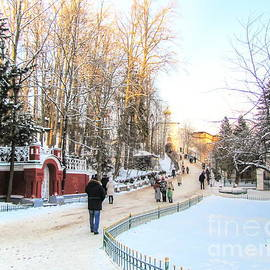 Yury Bashkin - winter near Pskov