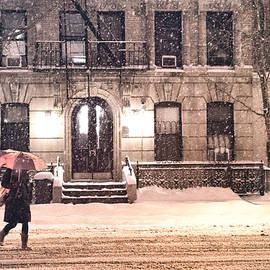 Vivienne Gucwa - Winter - New York City - Snow Falling