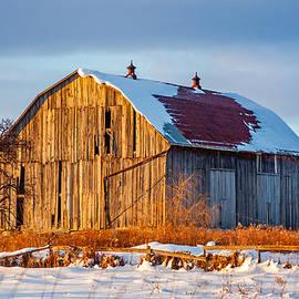 Steve Harrington - Winter Ontario Barn
