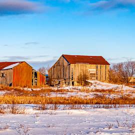 Steve Harrington - Winter Ontario Barns