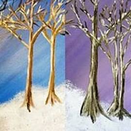 Debbie - Winter Solstice Blue and Purple