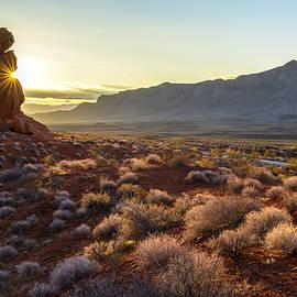 Joe Doherty - Winter Solstice Sunrise at Balanced Rock