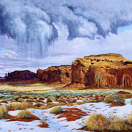 Winter Storm in Mystery Valley - Timithy L Gordon