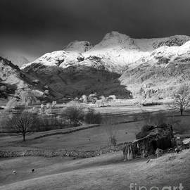 Justin Foulkes - Winter sunrise, The Langdale Valley, Lake District, England