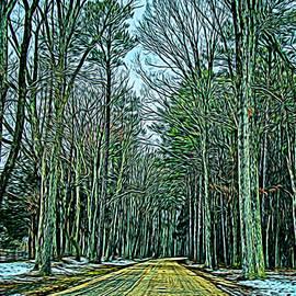 Kathy Liebrum Bailey - Winter Trees