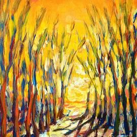 Vanessa Hadady BFA MA - Winter Trees