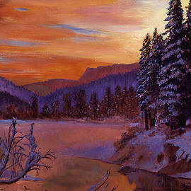 David Lloyd Glover - Winters Daybreak