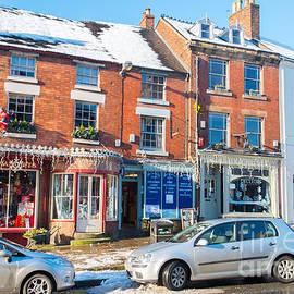 Wirksworth village Derbyshire England