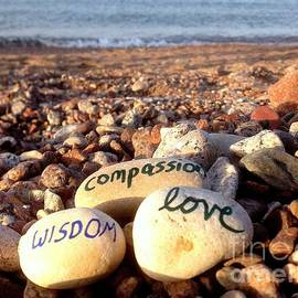 Noa Yerushalmi - Wisdom Compassion and Love on Ocean Pebbles