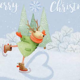 Jordan Blackstone - With All My Heart - Christmas Art
