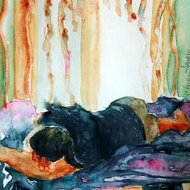 CheyAnne Sexton - With the Door Open watercolor