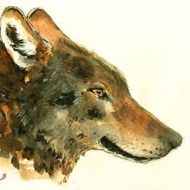 Wolf portrait - Juan  Bosco
