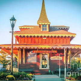 Claudia M Photography - Wolfeboro station in October