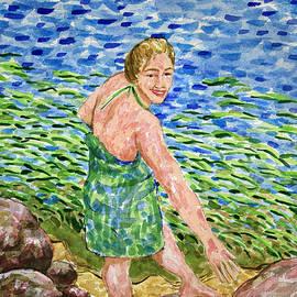 Bonnie Follett - Woman at the River
