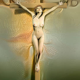 Joaquin Abella - Crucified woman