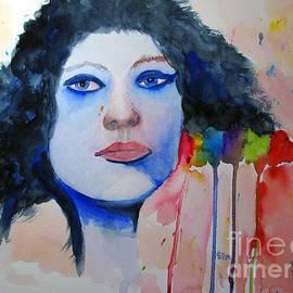 Sandy McIntire - Woman in Blue
