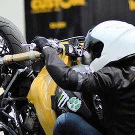 Cindy Nunn - Woman Motorcycle Stunt Rider 4