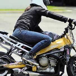 Cindy Nunn - Woman Motorcycle Stunt Rider 6