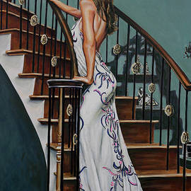Andy Lloyd - Woman on a Staircase 3
