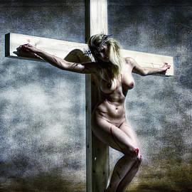 Ramon Martinez - Woman on the cross I
