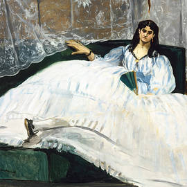 Edouard Manet  - Woman with a Fan