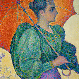 Woman with an Umbrella - Paul Signac