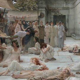 Women of Amphissa - Lawrence Alma-Tadema