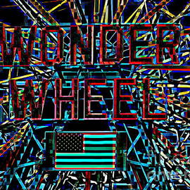Ed Weidman - Wonder Wheel Abstract