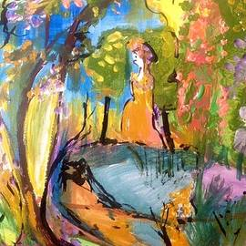 Judith Desrosiers - Wondering in the garden