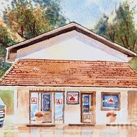 Kip DeVore - Woodcock Insurance in Watercolor  W406