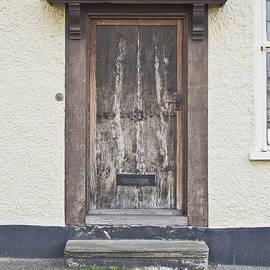Wooden front door - Tom Gowanlock