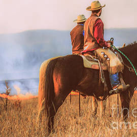 Lynn Sprowl - Working Cowboys