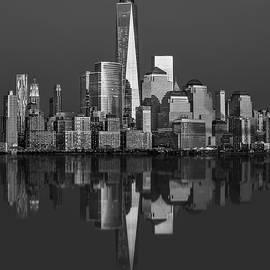 Susan Candelario - World Trade Center Reflections BW