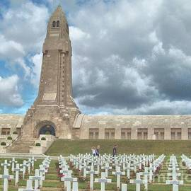 John Noyes and Janette Boyd - World War I Memorial at Verdun France