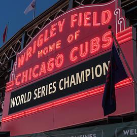Steve Gadomski - Wrigley Field World Series Marquee