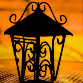 Wrought Iron Table lantern