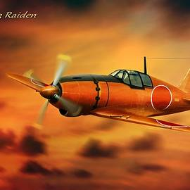 John Wills - WW2 Imperial Japanese Fighter J2M3 Raiden