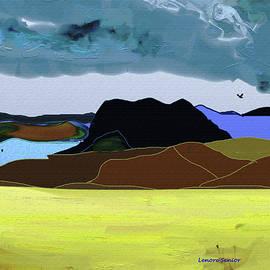 Lenore Senior - Wyoming Landscape 1