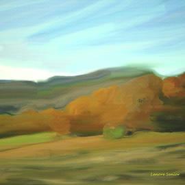 Lenore Senior - Wyoming Landscape in October
