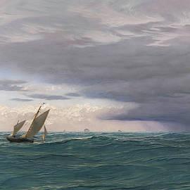 Yachts in a Seaway, Mediterranean, 1871 - John Brett