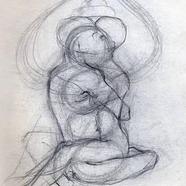 Stephen Carver - Yam Yub Drawing